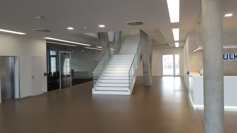 Treppenhaus Verwaltungsgebäude