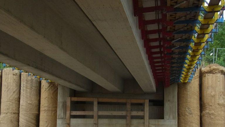 Vorgespannte Plattenbalkenbrücke, Frechen Buschbell